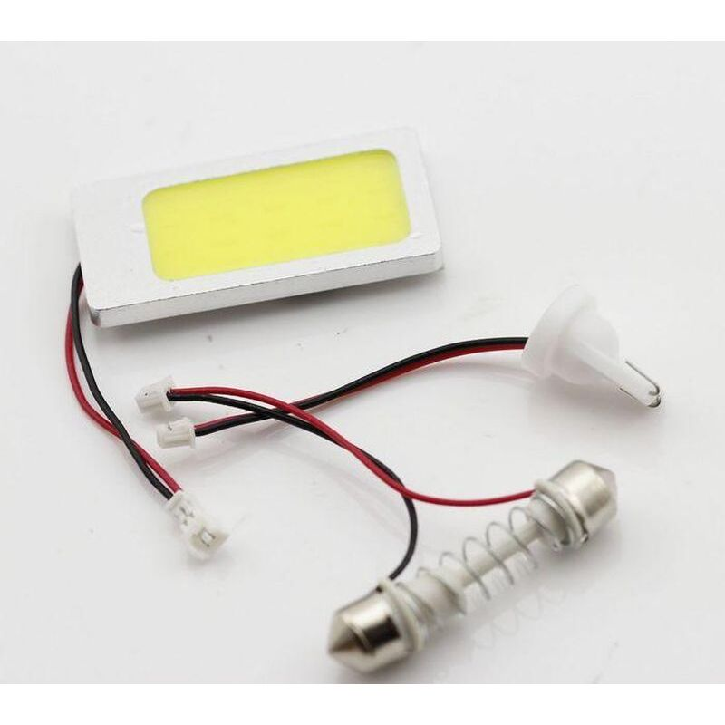 PLACA 13.5W 36 COB LEDS W5W BA9S C5W