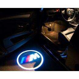 LOGO BAJO PUERTAS BMW ///M CREE LED