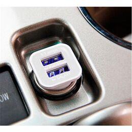Cargador USB con conexión a base encendedor electrico automovil 12V/24V - Salida 3A