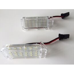 LED MATRICULA FORD