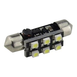 C5W CANBUS FESTOON 6 LED SMD 3528 39 MM