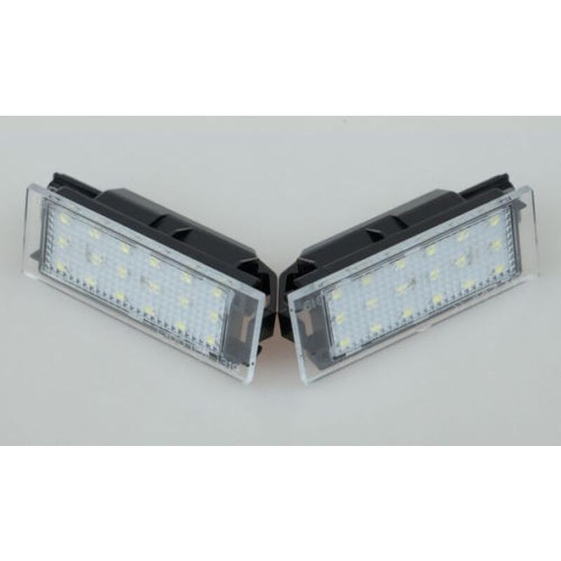 LED MATRICULA RENAULT