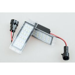 LED MATRICULA CHEVROLET