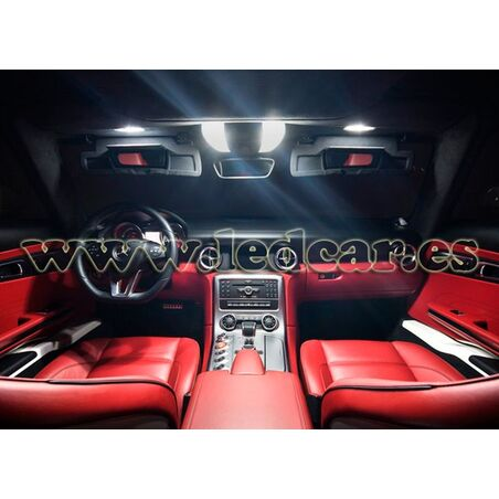PACK LUCES DE POSICION LED MERCEDES CLASE C W204 (PESTAÑAS)