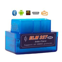 ESCANER COMPATIBLE CON ELM327 MINI OBDII-OBD2 DIAGNOSIS MULTIMARCA V2.1 BLUETOOTH
