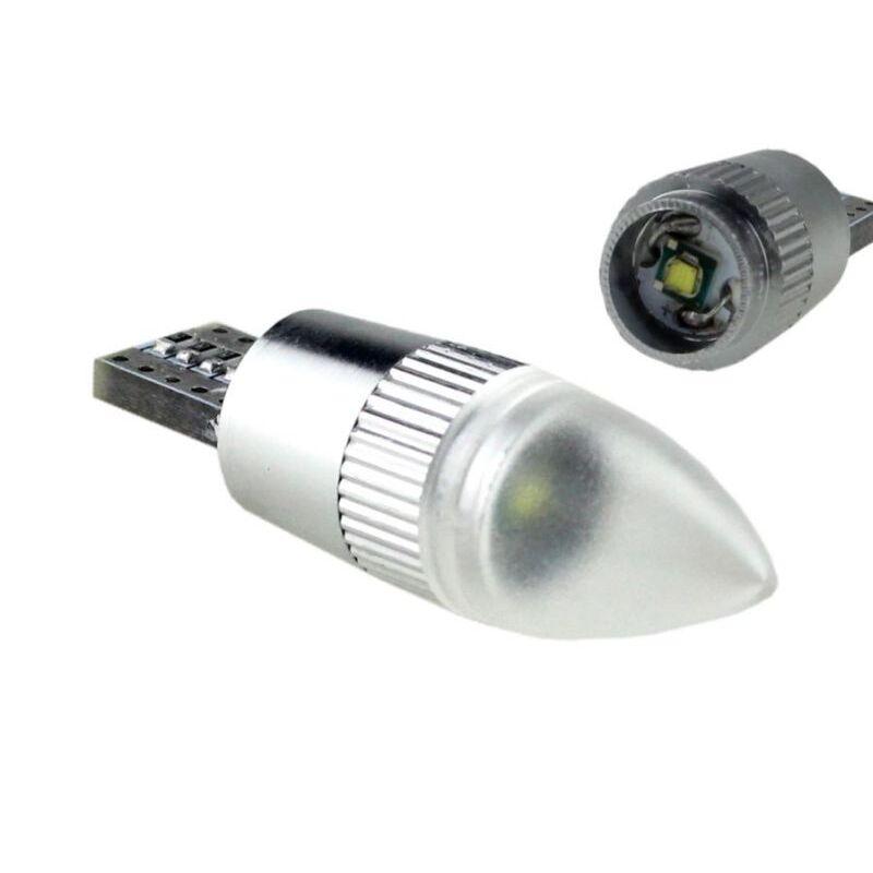 T10 W5W 1 LED CREE XPE CON LENTE