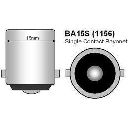 R5W BA15S 1156 COB 12 SMD