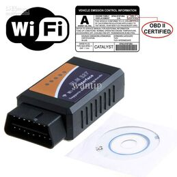 ESCANER COMPATIBLE CON ELM327 MINI OBDII-OBD2 DIAGNOSIS MULTIMARCA WIFI IPHONE ANDROID y PC
