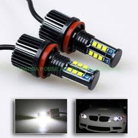 ANGEL EYES BMW LUZ BLANCA H8 CREE LED 120W (CON REFRIGERADOR)