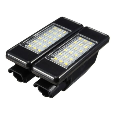 LED MATRICULA PEUGEOT / CITROEN / MERCEDES (TIPO 2)