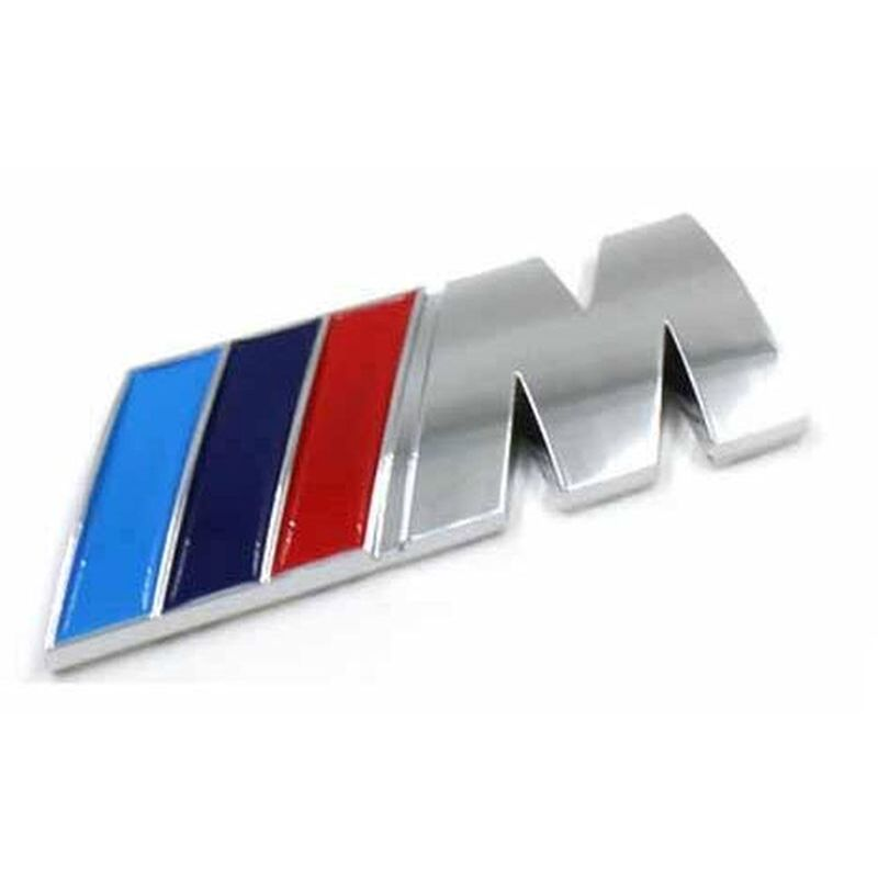 M BMW Emblema adhesivo
