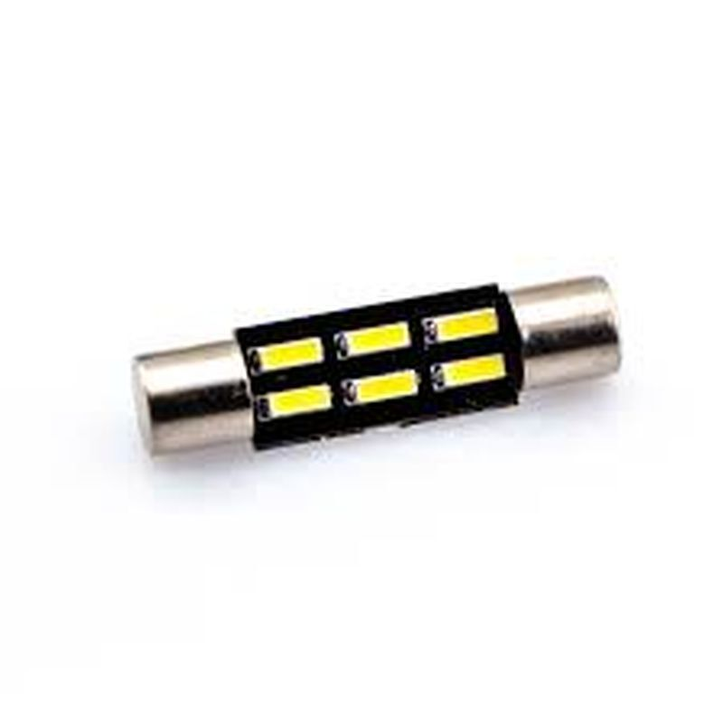 C5W FESTOON 6 LED SMD 5050 31 MM T6.3