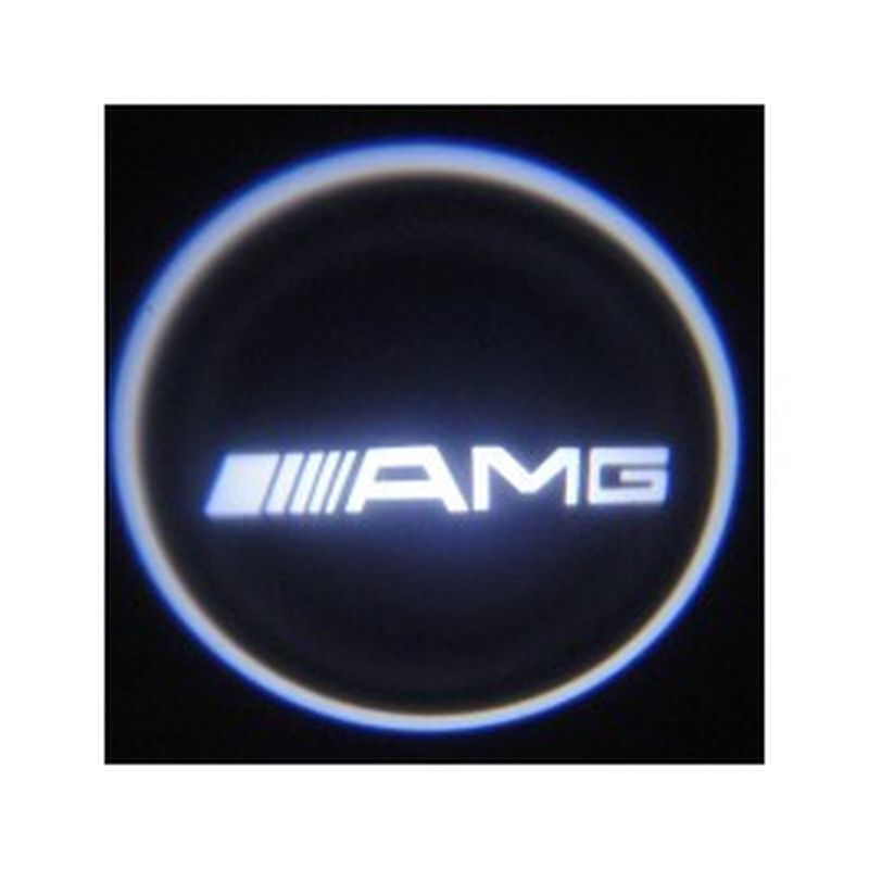 LOGO BAJO PUERTAS AMG CL, CLA, CLS, CLK CREE LED