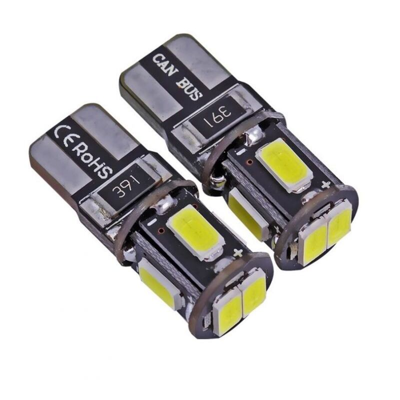 T10 CANBUS W5W 6 LED 5730 SMD
