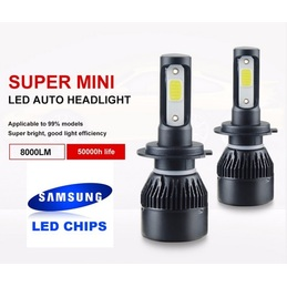 H7 COB LED Samsung luces de...