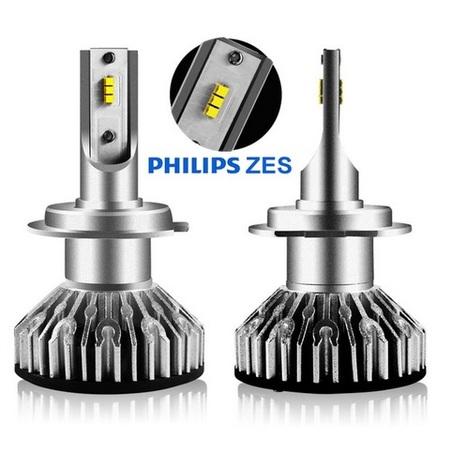 H8/H9/H11 60W LED CHIP PHILIPS LUMILEDS 10000 lumens (2 unidades)