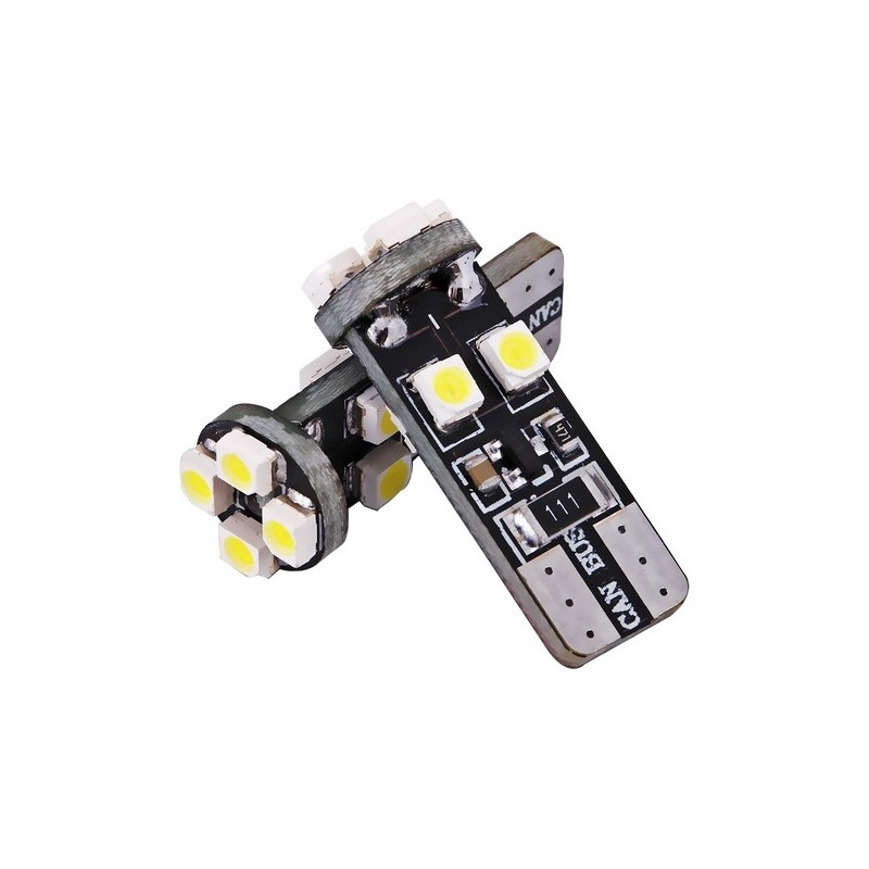 W5W CANBUS T10 8 LED SMD