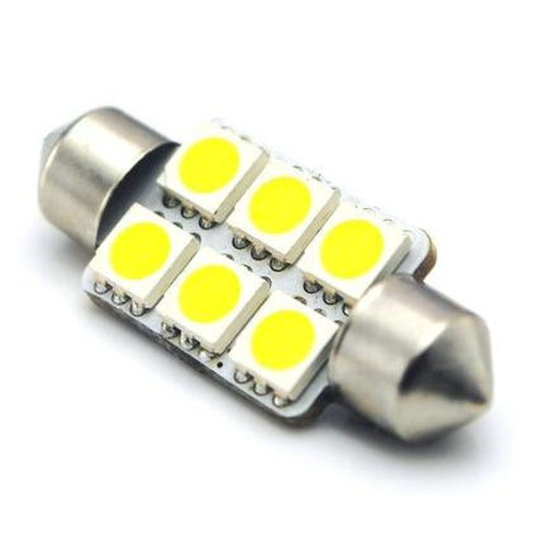 C5W FESTOON 6 LED SMD 5050 36 MM