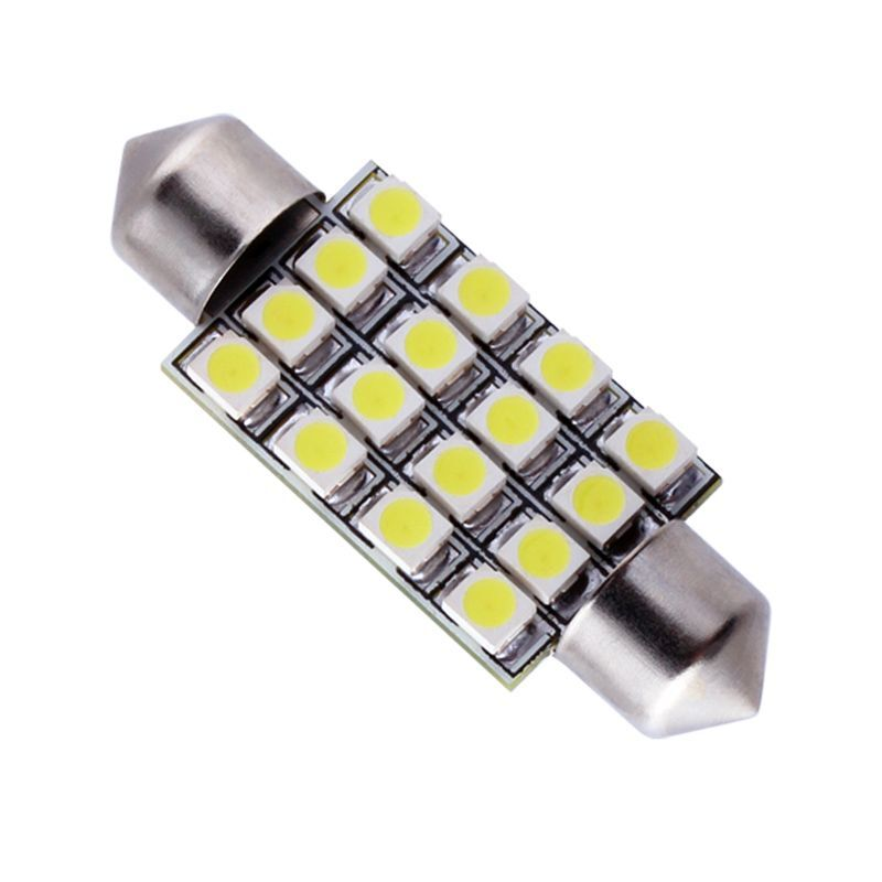 C5W FESTOON 16 LED SMD 3528 36/39/42 MM