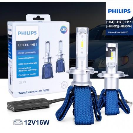 H8 / H11 / H16 PHILIPS 32W 6000K (2 unidades)