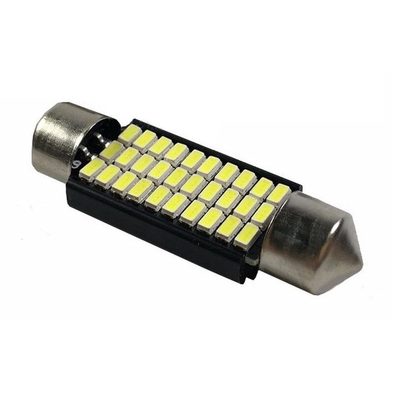 C5W CANBUS FESTOON 30 LED SMD 3014 39 MM DISIPADOR