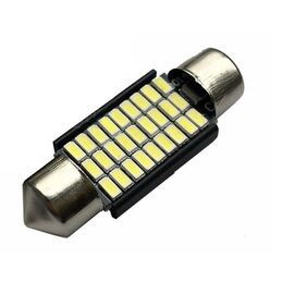 C5W CANBUS FESTOON 27 LED SMD 3014 36 MM DISIPADOR