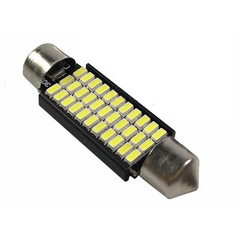 C5W CANBUS FESTOON 33 LED SMD 3014 42 MM DISIPADOR