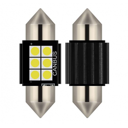 C5W FESTOON 6 LED SMD 31 MM