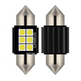 C5W FESTOON 6 LED SMD 31 MM