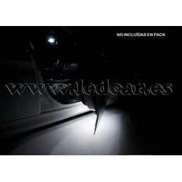 Ledcar Luces REPOSAPIES/BAJO Puertas/RETROVISORES