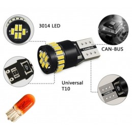 W5W CANBUS T10 24 LED SMD...