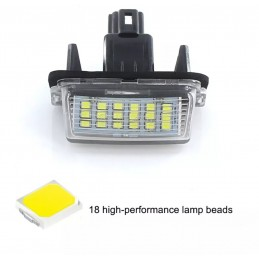 LED MATRICULA TOYOTA