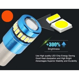 BAY9S CANBUS T10 LED SMD...
