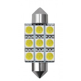 C5W FESTOON 12 LED SMD 42 MM