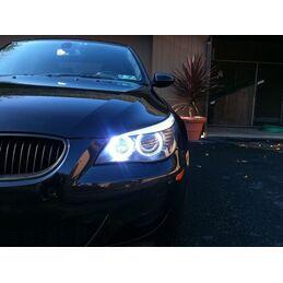 ANGEL EYES BMW LUZ BLANCA H8 CREE LED X-ML 40W (E60, E61, E63, E64, E70, E71, E82, E87, E90, E91, E92, E93)
