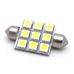 C5W FESTOON 9 LED SMD 42 MM